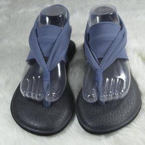 Sanuk  Yoga Sling Thong Flip Flop Sandals 9.